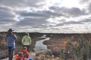 Fall canoe trip, 2011